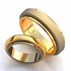 Золотые обручальные кольца без камней