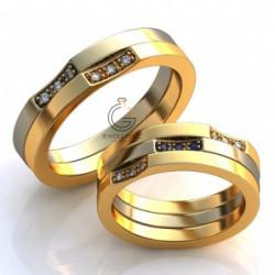 Двойное и тройное обручальные кольца