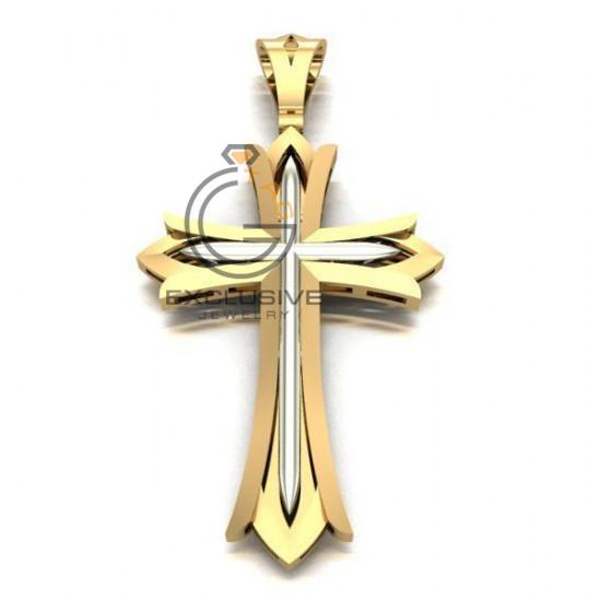 Мужской крест без распятия