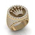 Мужские кольца с камнями