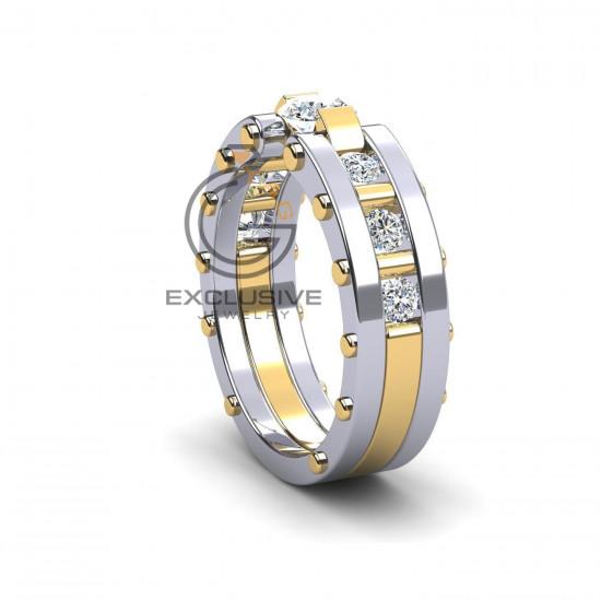 Мужское стильное кольцо