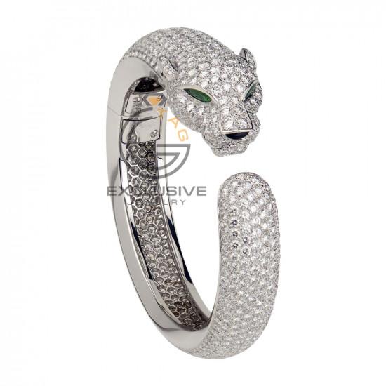Женский браслет леопард